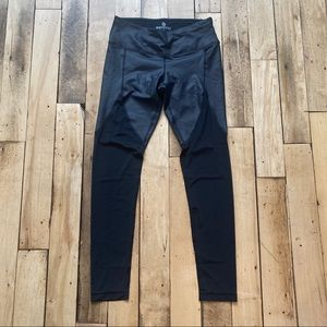 90 degree by Reflex Black mesh Legging